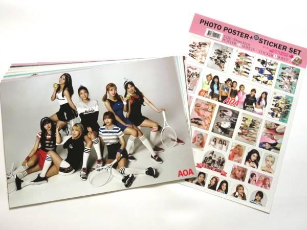 AOA/エーオーエー★A3サイズ ポスター & ステッカー SET 新品 C76