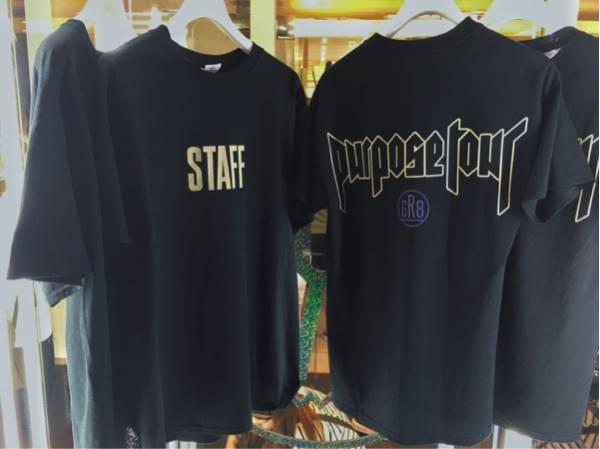justinbieber purpose TシャツS ジャスティンビーバー日本 GR8 3 ライブグッズの画像