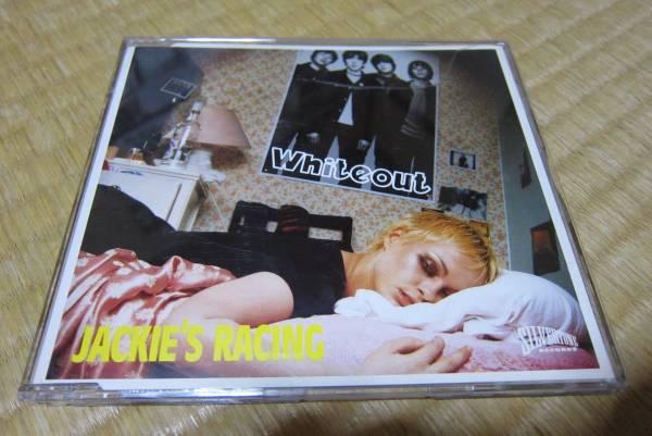 whiteout jackie's racing 輸入盤 cd シングル uk oasis ホワイトアウト ブリット ポップ_輸入盤CDシングルです。