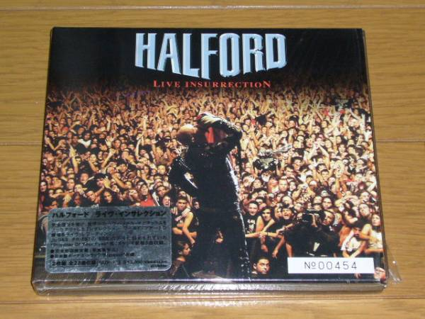 国内盤 スリーブケース仕様 HALFORD / LIVE INSURRECTION 2CD