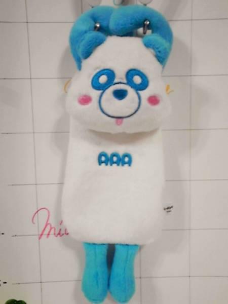 AAA/え~パンダ/ぬいぐるみ/マルチケース/與真司郎/青色/AAA/トリプルA_画像1