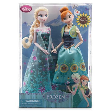 限定●アナと雪の女王●エルサのサプライズ●ドール ディズニーグッズの画像