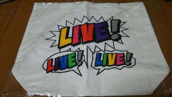 NEWS/LIVE LIVE LIVEツアーバッグ/新品