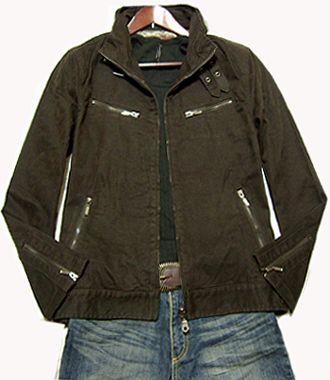 ★ new Furokki processing Riders zip jacket L ☆ limited number 1