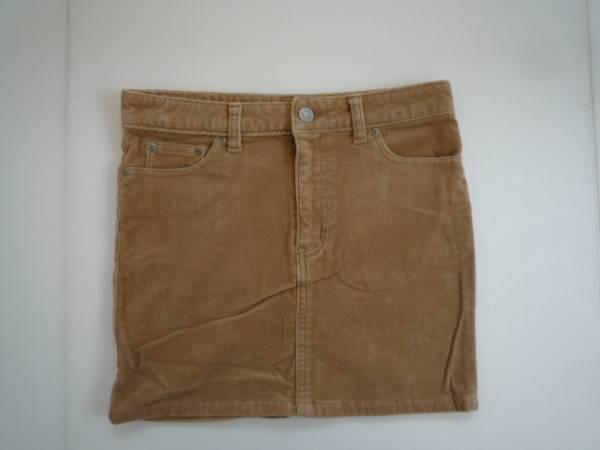 【良品!】 ● シェルレイ / SHELL RAY ● 台形スカート ベージュ ミニ Sサイズ (RK11L058)