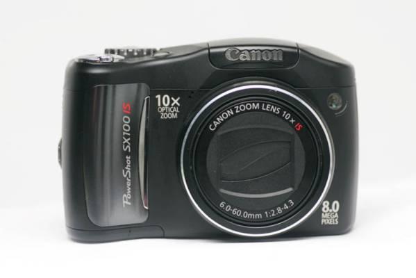 ◆D23◆Canon PowerShot SX100 IS キャノン 800万画素/中古品