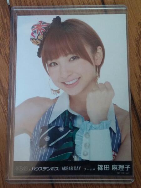 元AKB48篠田麻里子ハウステンボス生写真検)DVD総選挙shop劇場盤