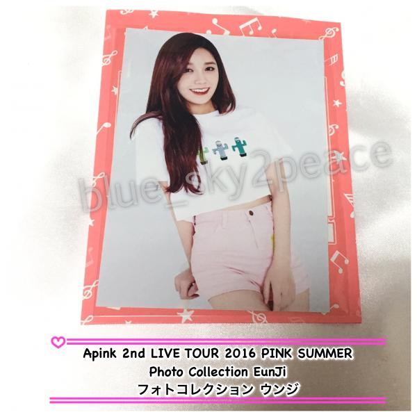 Apink 2nd TOUR PINK SUMMER◆フォトコレクション◆ウンジ