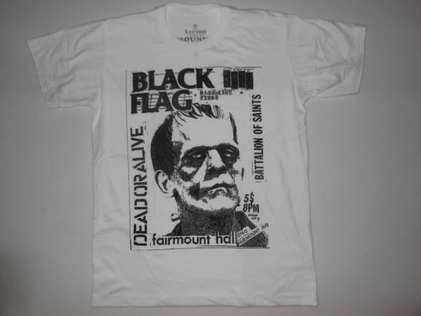 ◆即決!◆ブラックフラッグ≪DEAD OR ALIVE≫Tシャツ◆パンク!