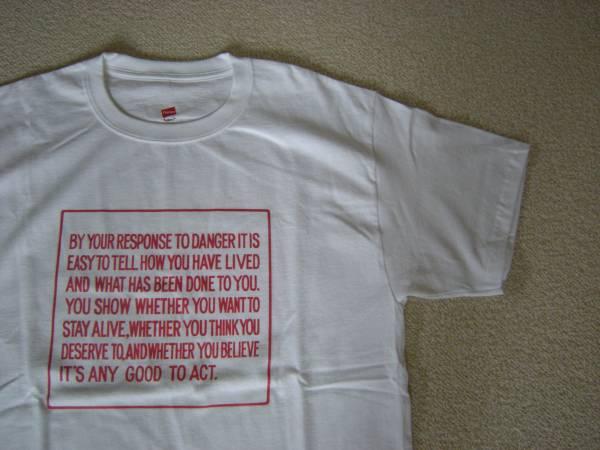 日本未発売 Jenny Holzer メッセージ Tシャツ ホワイト Mサイズ/Hane's/非売品/Kay Rosen Barbara Kruger Whitney Museum 美術館