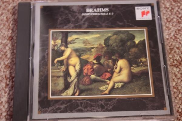 ヨハネス・ブラームス:交響曲第2番ニ長調op.73/交響曲第3番op.90/クリーヴランド管弦楽団 ジョージ・セル:指揮/CBS SONY/ステレオ録音CD_画像1