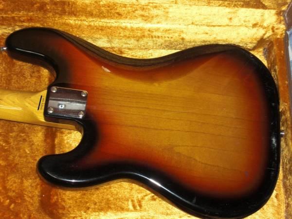 Fender 62' Precision Bass スパイラル USA PU 激鳴! フェンダー