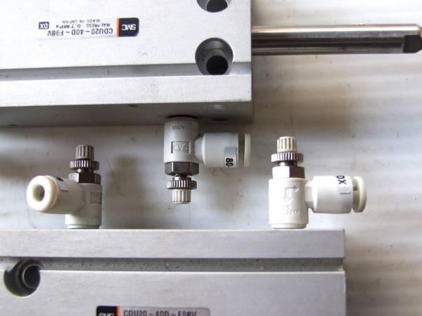 16-8/4 エアーシリンダーA *SMC CUD20-40D-F9BV_画像3