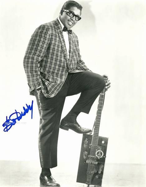1955年 ボ・ディドリー Bo Diddley サイン フォト