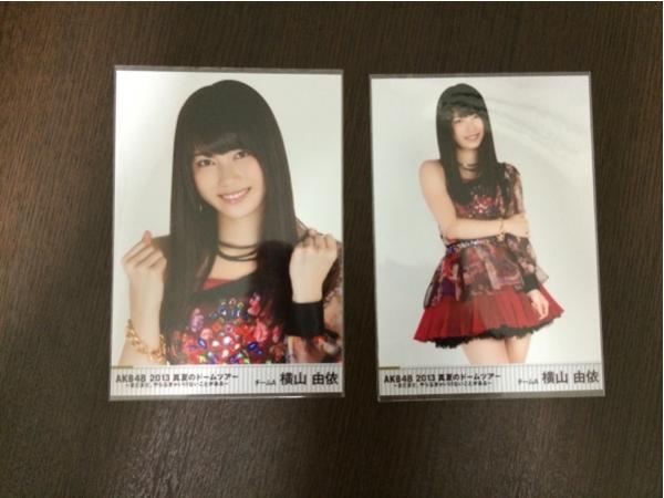 AKB48 横山由依 写真 DVD特典 真夏のドームツアー コンプ ライブ・総選挙グッズの画像