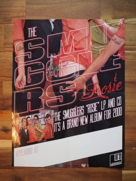 THE SMUGGLERS ポスター ポップパンク RAMONES