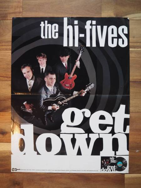 THE HI-FIVES ポスター RAMONES LOOKOUT ポップパンク