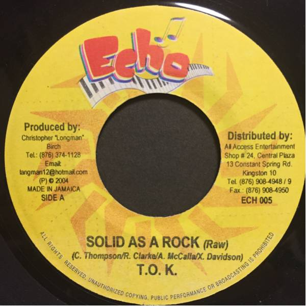 TOK/SOLID AS A ROCK 600円セール実施中!他絶賛出品中!_画像1