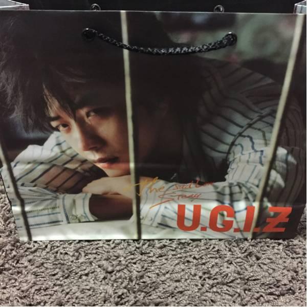 韓国★クォンサンウ U.G.I.Z ショッパー 紙袋②★恋する神父 ライブグッズの画像