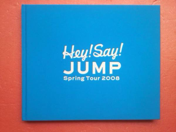 Hey!Say!jump 2008年 Spring Tour パンフレット