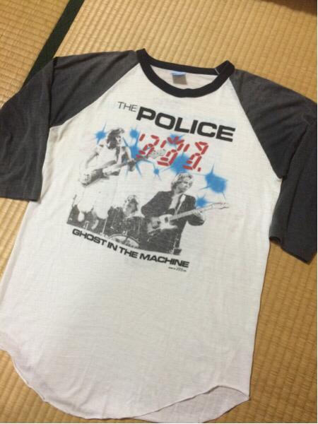 THE POLICE/ポリス 七分袖バンドTシャツ GHOST IN THE MACHINE