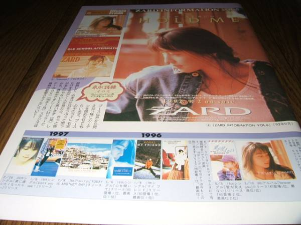 ◆切り抜き◆ ZARD 坂井泉水⑤ C10