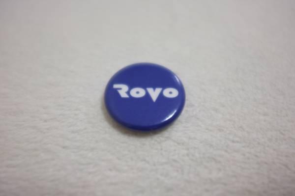 RSR 2012■ROVO 缶バッジ■ロボ 勝井祐二 山本精一
