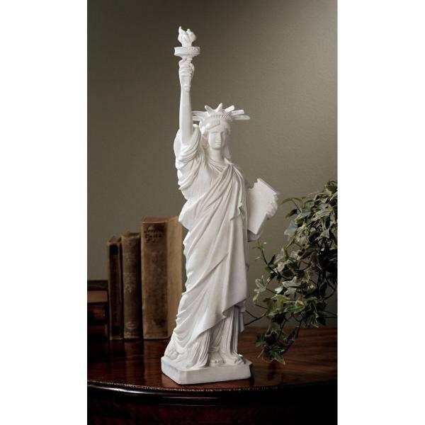 自由の女神 大理石彫刻彫像置物インテリアオブジェアクセント_画像1