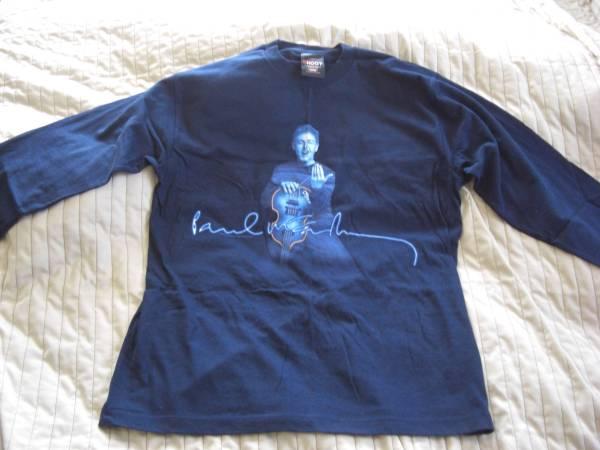 未使用★ポール・マッカートニー長袖TシャツDRIVING JAPAN2002