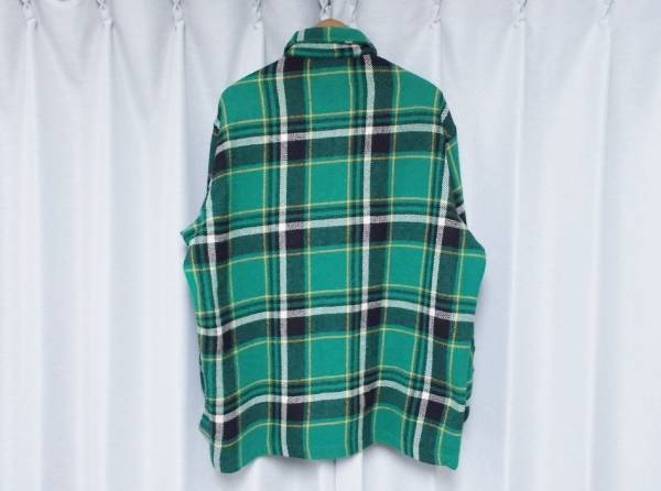 ◆送料無料 希少◆ラルフローレン ポロカントリー ウール シャツ M USA アメリカ製 ヴィンテージ POLO COUNTRY RALPH LAUREN_画像2