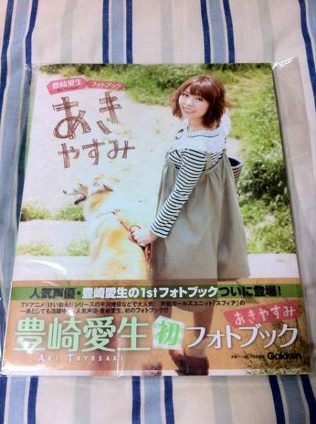 あきやすみ 豊崎愛生 1stフォトブック 新品