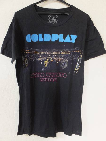 TRUNK SHOW COLDPLAY Tシャツ Mサイズ MYLO XYLOTO LIVE 2012