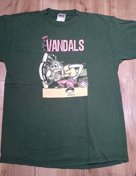 The Vandals t shirt vintage rock punk alternative band tour