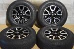 【希少】USトヨタ タンドラ TRD オフロードPKG 純正 275/65R18 センサー付 スプリット5スポーク 8J +60 150 5H ランクル セコイア