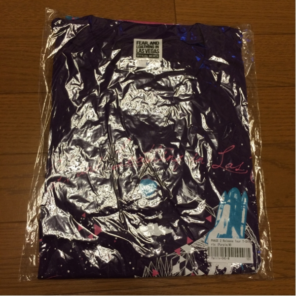 FEAR,AND LOATHING IN LASVEGAS 新品 M Tシャツ PHASE2 紫 格安