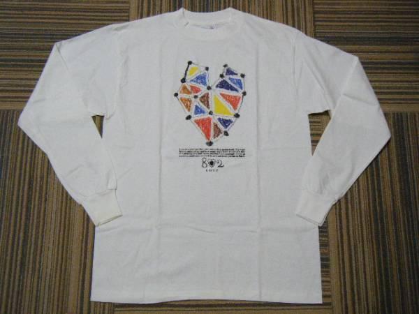 FM802 FUNKY802 LOVE プリントTシャツ/長袖 白色