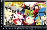 *AA4 ポストカード P4G ペルソナ Persona 4 The GOLDEN