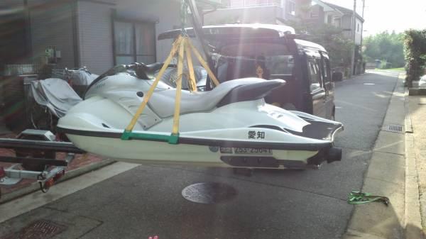 「☆ジェット&船専用の電動ヒッチクレーン」の画像2