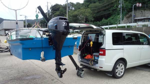 「☆ジェット&船専用の電動ヒッチクレーン」の画像1