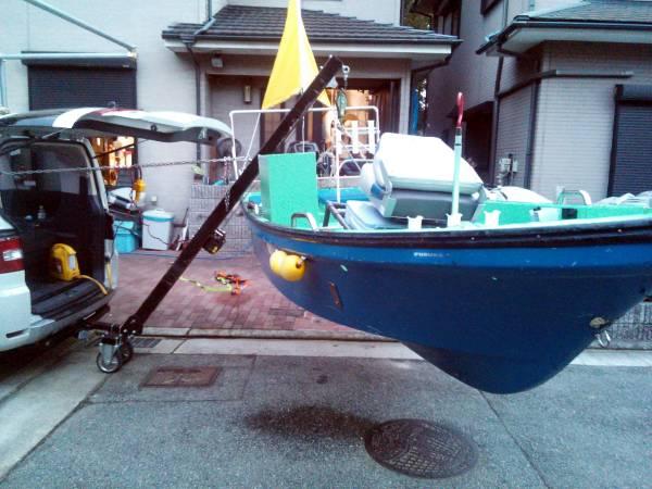「☆ジェット&船専用の電動ヒッチクレーン」の画像3