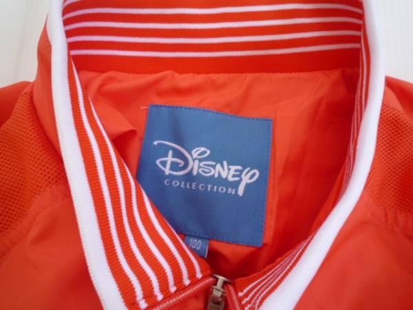 【良品!】 ◆ ディズニー / Disney ◆ ブルゾン オレンジ 長袖 100_画像3