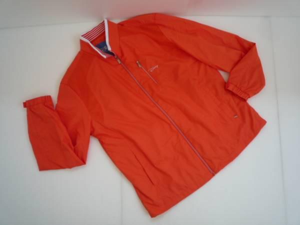 【良品!】 ◆ ディズニー / Disney ◆ ブルゾン オレンジ 長袖 100