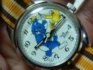 レア!トム&ジェリーの手巻き時計 スイス製の耐磁性です。