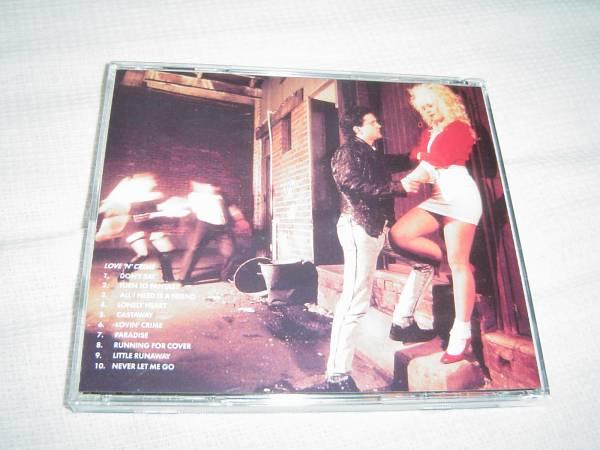 ICE TIGER 「LOVE 'N' CRIME」 女声メロディアス・ハード系名盤 オリジナル盤_画像2