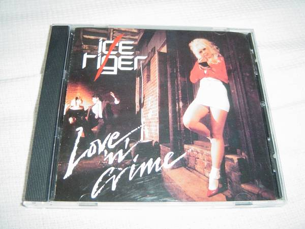 ICE TIGER 「LOVE 'N' CRIME」 女声メロディアス・ハード系名盤 オリジナル盤_画像1