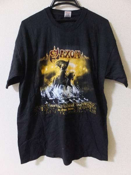 SAXON//Tシャツ/Lサイズ/HEAVY METAL THUNDER LIVE/2012 TOUR