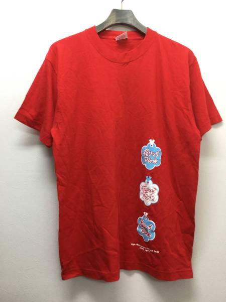 松浦亜弥 松リング Pink コンサートツアー 2003 Tシャツ 赤 C8