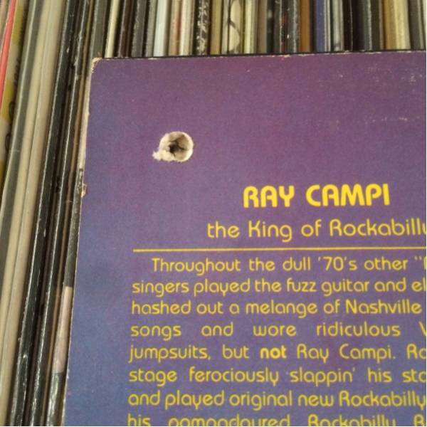 RAY CAMPI Orig LP Hollywood Cats 歌詞カード付き ロカビリー_画像3