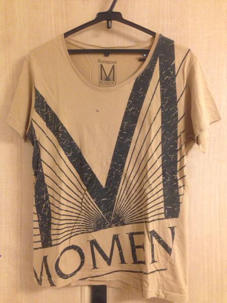 flumpool MOMENT 5th Anniversary tour 2014 Tシャツ サイズS フランプール ライブグッズの画像