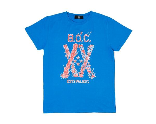 BUMP OF CHICKEN 2016夏 20周年記念Tシャツ 青Sサイズ 新品未開封 20TH ANNIV. Slit TEE BLUE